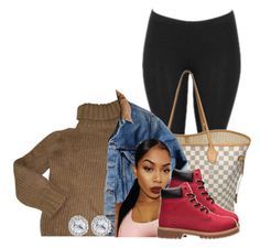 """""""Untitled #509"""" by princess-miyah ❤ liked on Polyvore featuring Isabel Marant, Louis Vuitton, Carhartt and Timberland"""