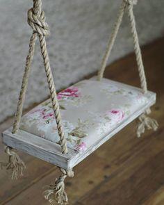 Simple & romantic   .  .  .  #kiigik #kiigikswings #swing #toddler #kids #fun #play #cloudcatcher #madeinestonia #estoniandesign #romantic #roses #chalkpaint #interiordesign #roomdecor #swingtotouchtheclouds