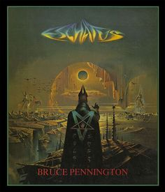 'Eschatus' is a page-by-page visual interpretation of what artist Bruce Pennington thinks the scriptures of Nostradamus' predictions mean.