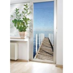 Sea view door mural. £24.99 http://www.worldstores.co.uk/p/Wenko_Sea_View_Door_Mural.htm
