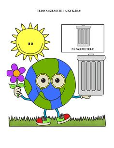 Motor Activities, Activity Games, Earth Day, Childhood Education, Continents, Green Day, Kindergarten, Clip Art, Teaching