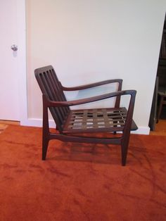 Mid Century Modern Lounge Chair, Made in Denmark, Retro Wood Chair, Danish Modern Arm Chair, Scandinavian Style by CapeCodModern on Etsy https://www.etsy.com/listing/257204332/mid-century-modern-lounge-chair-made-in