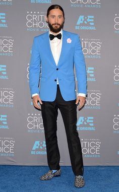 Jared Leto looks hotter than ever at the Critics' Choice Awards!