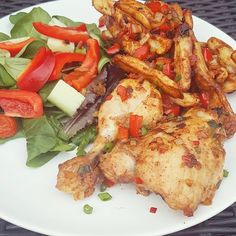 Chicken slimming world - pinch of nom slimming world recipes syn free c Dinner Recipes For Kids, Healthy Dinner Recipes, Vegetarian Recipes, Salt And Chilli Chicken, Slimming World Recipes Syn Free, Diet Soup Recipes, Chicken Stuffed Peppers, Living At Home, Healthy Baking