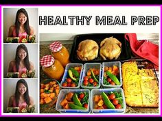 MEAL PREP WITH ME! ☆ @BakingMadGymAddict ☆ Healthy Weekly Food Prep - YouTube