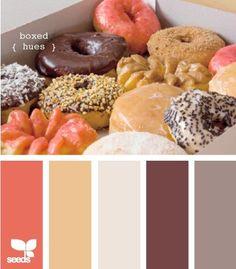 Кто из нас не любит сладости  М...   #сочетаниецветов #сладости #пончик
