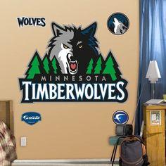 Fathead NBA Wall Decal NBA Team: Minnesota Timberwolves