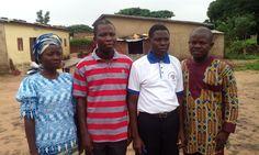 Our host Pastors at Parakou, Republique du Benin