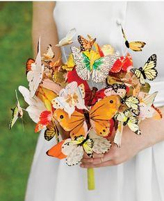 Bouquet de borboletas.