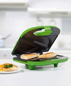 Green Nonstick Two-Empanada Maker by Holstein Housewares #zulilyfinds