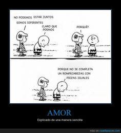 Charlie Brown te explica el amor, muy fácil - Explicado de una manera sencilla