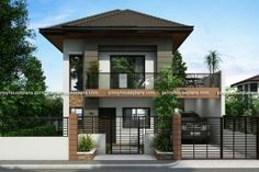 PHP-2014012 is a Two Story House Plan with 3 bedrooms, 2 baths and 1 garage. It is also a single attached house plan since the right side wall is fire-walled to maximize lot usage. The minimum lot ...