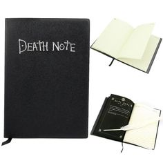 Death Note Anime Themed Notebook with Featherpen – Otakupicks