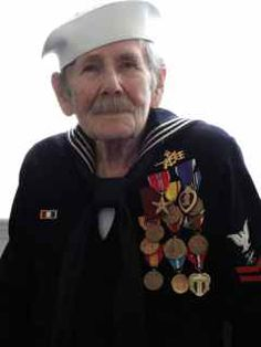 Thank You for your service, Andrew W. Andrew served in the United States Navy between 1943 and 1952 and saw active duty in both World War II and the Korean Conflict.