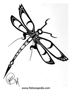 Dragonfly Tattoos Celtic 3
