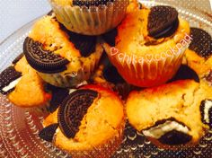 オレオで秘密のクッキー&クリームマフィン by ♡チカ♡ [クックパッド] 簡単おいしいみんなのレシピが233万品