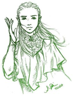 Young Legolas <------- OH MY EVERYTHING HOLY I LOVE THIS SO MUCH AHSJFKWBS