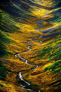 Tundra Valley, Alaska