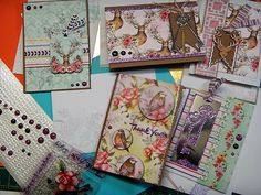HandmadebyRenuka: 1kit and 10 more cards with LFL Feb 2017 card kit - 5 MASCULINE CARDS with matching Envelopes