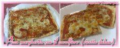 Pizza dukan di cavolfiore - senza carboidrati (359 calorie) | LeRicetteSuperLightDiGiovi