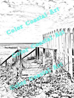 Color yourself back to your relaxing beach vacation!  These coloring images were created from photographs I took myself while visiting family in the Abacos, Bahamas. These ... #coloriage #printable #download #pattern ➡️ http://jto.li/BSf4s