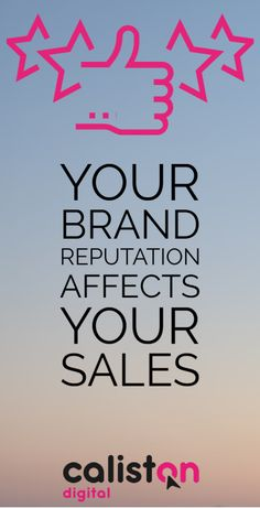 Your Brand Reputation Affects Your Sales Online Digital Marketing, Small Company, Creative Business, Insight, Psychology, Psicologia