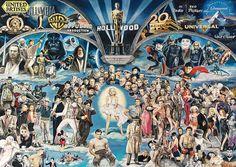 Puzzle Schmidt Hollywood de 1000 Piezas