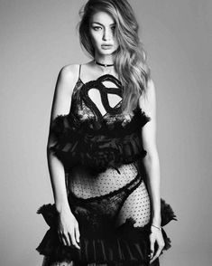 Vogue Japan December 2016 - Gigi Hadid by Luigi and Iango 1