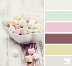 Marshmallow Tones - http://design-seeds.com/index.php/home/entry/marshmallow-tones1