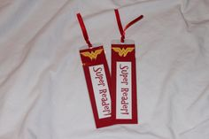 Wonder Woman Party Favors Bookmarks Book by CherishedBlessings, $15.00