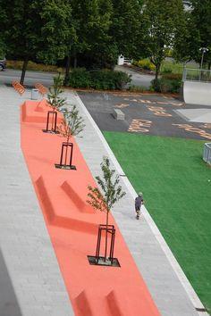 Hokksund-middle-school-park-design-10 « Landscape Architecture Works | Landezine