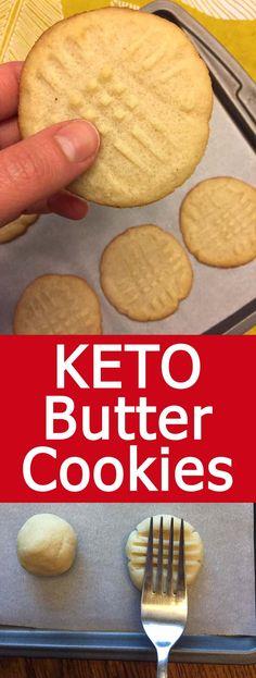 These Keto butter cookie are amazing! Nobody can tell they are keto or low-carb,… These Keto butter cookie are amazing! Nobody can tell they are keto or low-carb, they taste like real butter cookies! So yummy and addictive! Keto Desserts, Keto Snacks, Dessert Recipes, Holiday Desserts, Irish Desserts, Dessert Ideas, Breakfast Recipes, Snack Recipes, Keto Butter Cookies