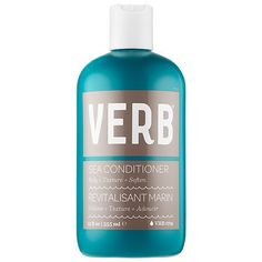 Browse unbiased reviews and compare prices for Verb Sea Conditioner. Haven't tried this product yet, but I am a  fan of Verb products. So clean and simple even when it comes to pricing. Compared to other shampoos and conditioners I didn't see a dramatic difference from the salon quality products I was using before, but I will say the hair mask left my hair feeling soft not greasy