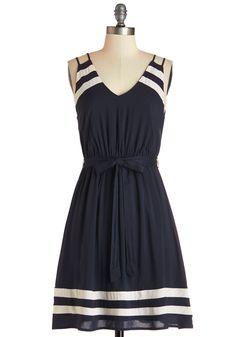 Highs and Billows Dress #blue #modcloth