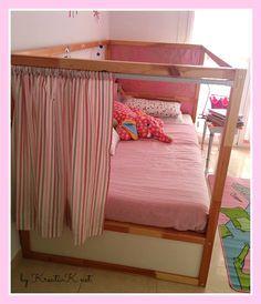 die besten 25 ikea kura bett vorhang ideen auf pinterest graue baby vorh nge prinzessin. Black Bedroom Furniture Sets. Home Design Ideas