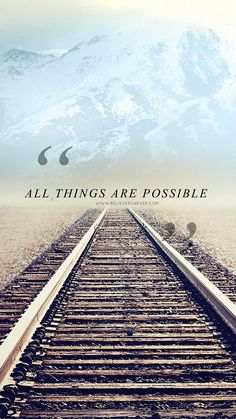 All things are possible #Free #Christian lock screen #wallpaper for your mobile device. Compatible with Apple Iphone 6, Iphone 5,...Read More » http://believers4ever.com/2015/01/things-possible-mobile-wallpaper/