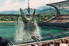 WATCH / We went to the screening last night for #JurassicWorld. You won't want to miss this movie!  /  #SLCC15 tickets: http://saltlakecomiccon.com/slcc-2015-tickets/?cc=Pinterest