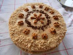 Gerdi süti: Diós-kapucsínós torta Dios, Food Cakes