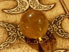 calcite arancio (sfera)