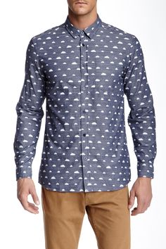 Broke Back Button-Up Shirt by WeSC