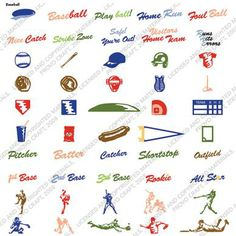 Cricut® Baseball Solutions™ Cartridge