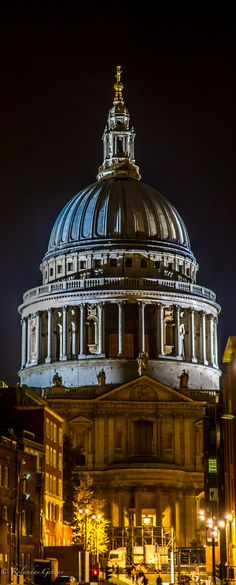 St Paul's Cathedral, London  #RePin by AT Social Media Marketing - Pinterest Marketing Specialists ATSocialMedia.co.uk
