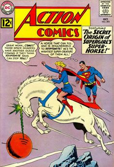 Superman Fan Podcast Episode #288 Part II: Superman Comic Book Cover Dated October 1962: Action Comics #293! http://thesupermanfanpodcast.blogspot.com/2013/11/episode-288-part-ii-superman-comic-book.html