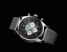 With the Transocean Chronograph Unitime, Breitling has reinvented the worldtime mechanism while endowing it with unprecedented user friendliness.