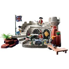 """Playmobil Soldiers Fort with Dungeon - Playmobil - Toys """"R"""" Us"""