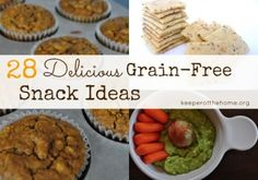 Grain-Free Snack Recipes for Your Family