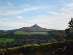 View from Knockree Youth Hostel, Ireland