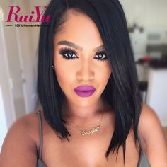 79.21$  Watch now - http://alileg.worldwells.pw/go.php?t=32777097125 - Peruvian Straight Virgin Hair Bob Lace Front Wigs Full Lace Human Hair Wigs For Black Women Short Lace Front Wigs Human Hair 79.21$