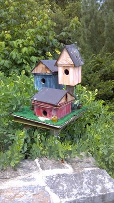 Bird house in Hershey Gardens