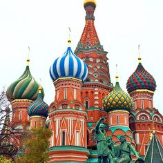St. Basils Cathedral-Moscow